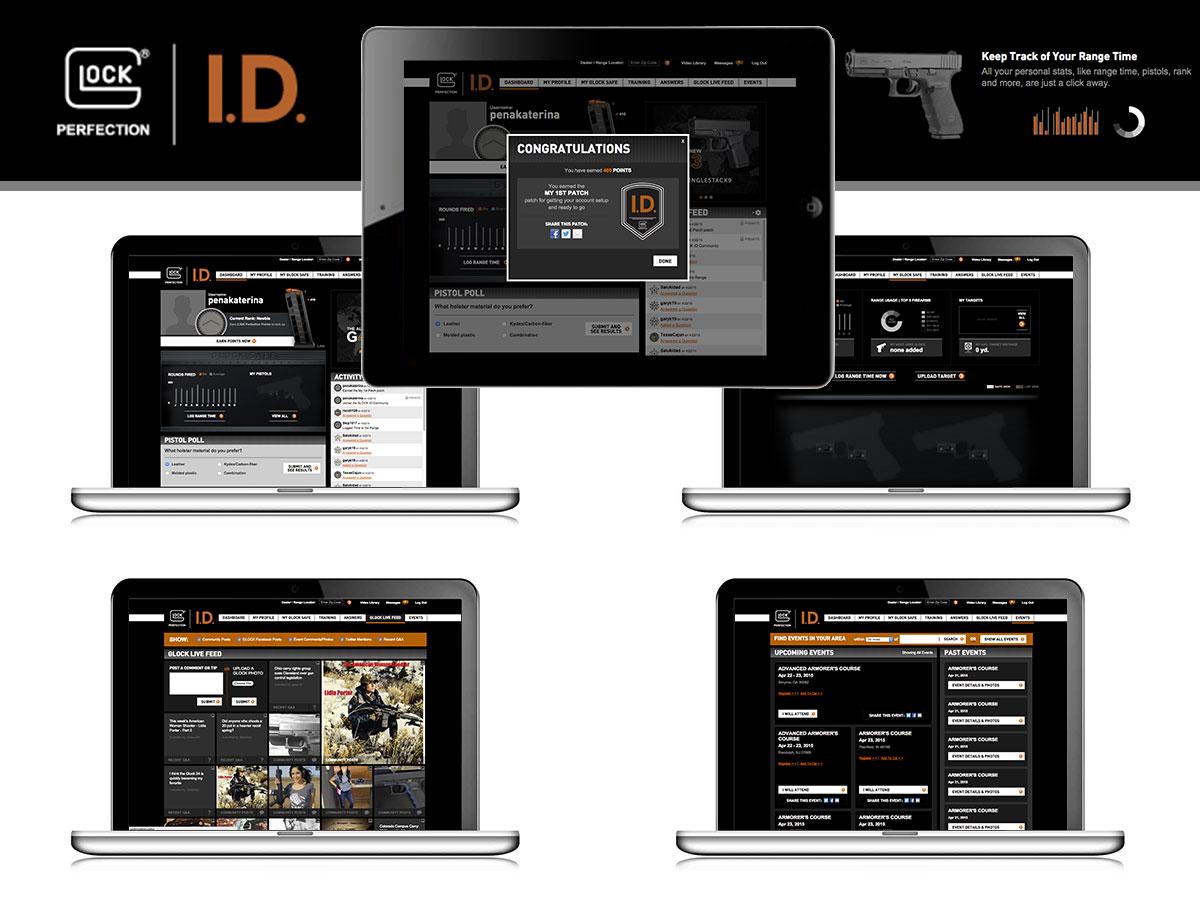 Glock website
