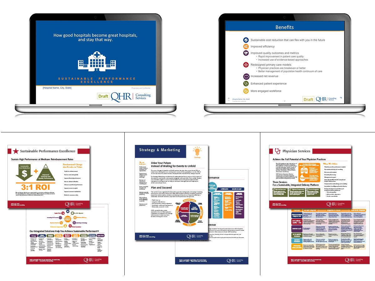 QHR Consulting Services portfolio
