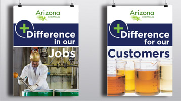 Arizona Chemical +Difference posters