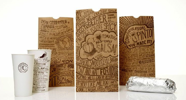 Chipotle hand lettering