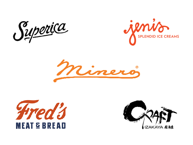 hand lettering logos