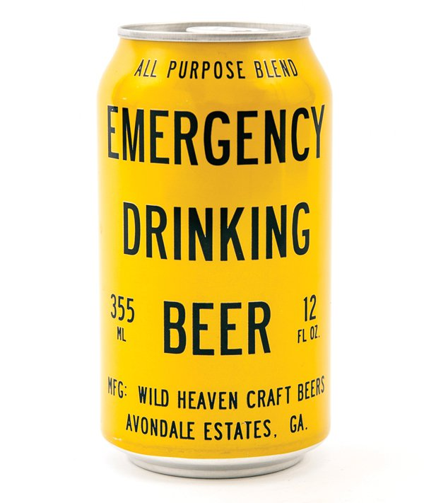 Wild Heaven Emergency Drinking Beer