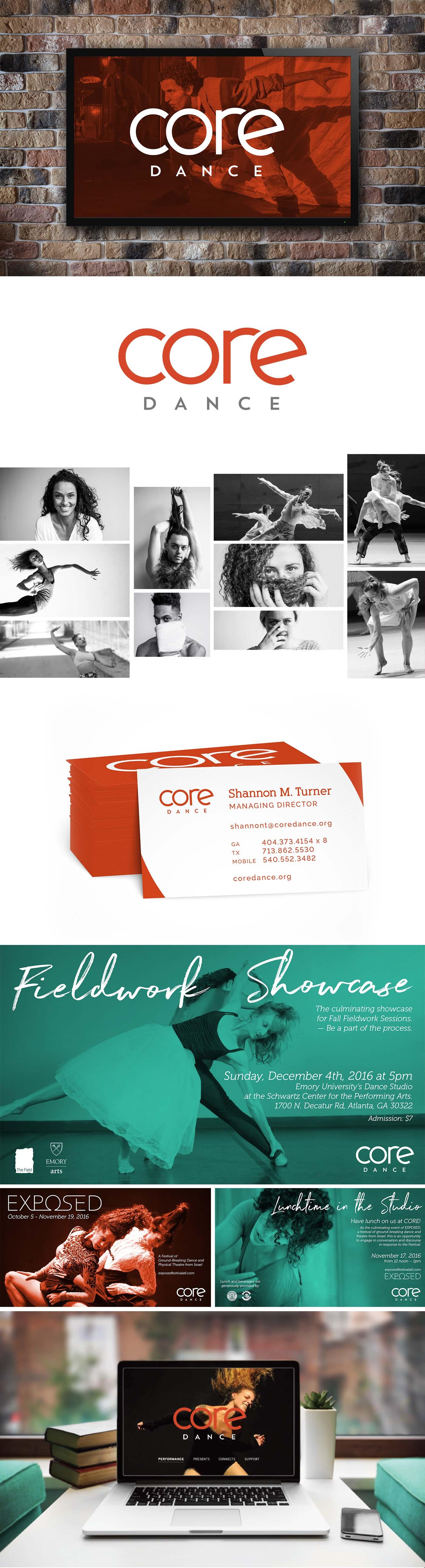Core Dance portfolio