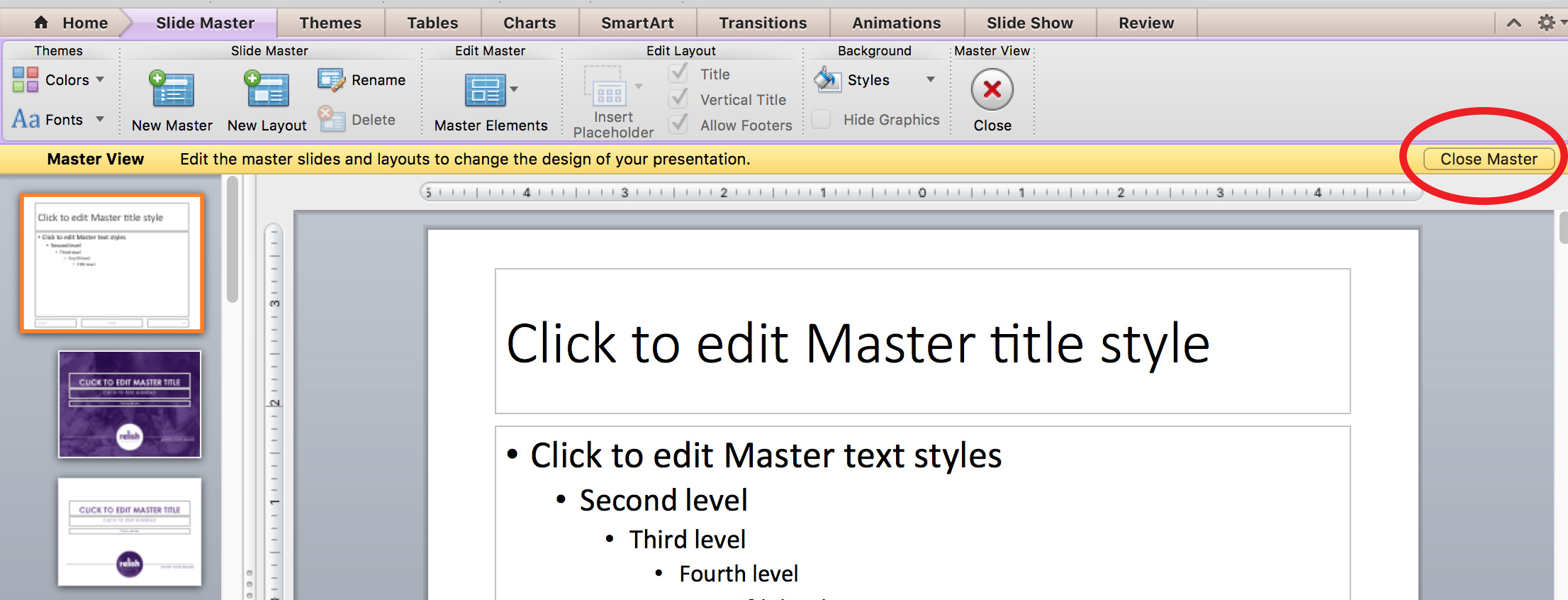 The Mysteries Of The Powerpoint Slide Master