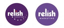 Relish Marketing logo refresh