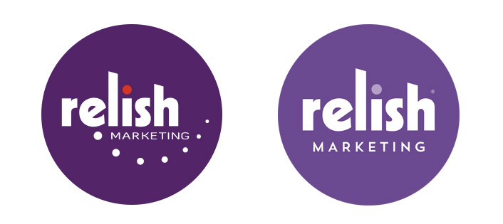 Relish Marketing logo refresh
