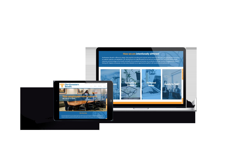 Northwestern Benefit website