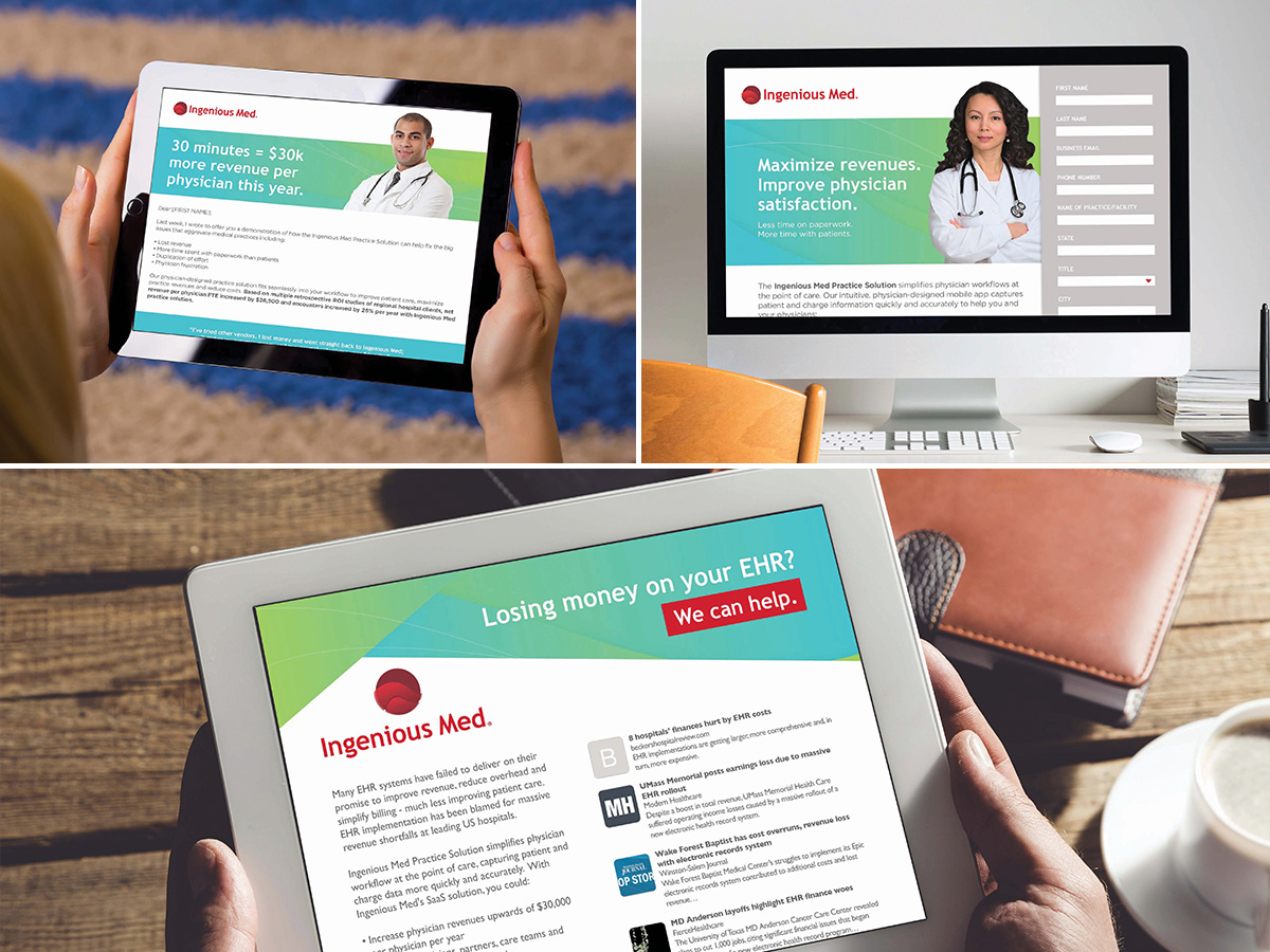 Ingenious Med digital campaigns