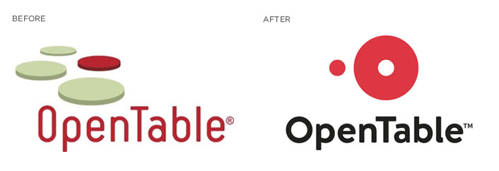 Open Table logo redesign