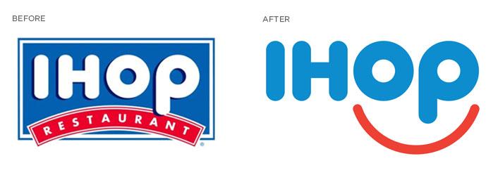 IHOP logo redesign