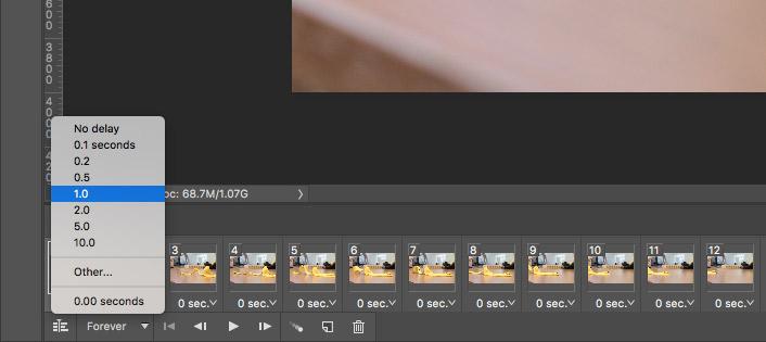 Photoshop frame length