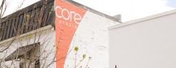 Core Dance environmental graphics