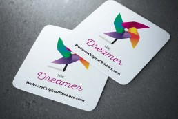 Welcome Original Thinkers Dreamer coaster