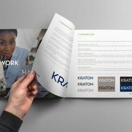 Corporate Branding for Kraton - Book Render