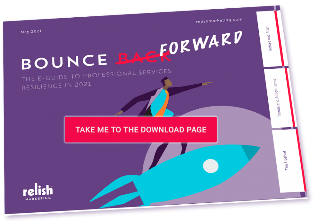 Bounce Forward – A Guide to Professional Services Resilience in 2021